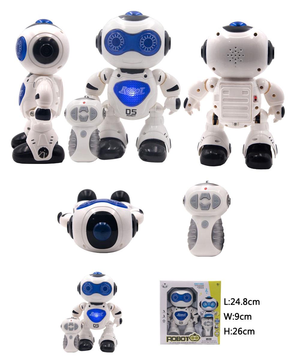 Jouet Robot D5 danse, parle et marche avec lumière et musique + Télécommande