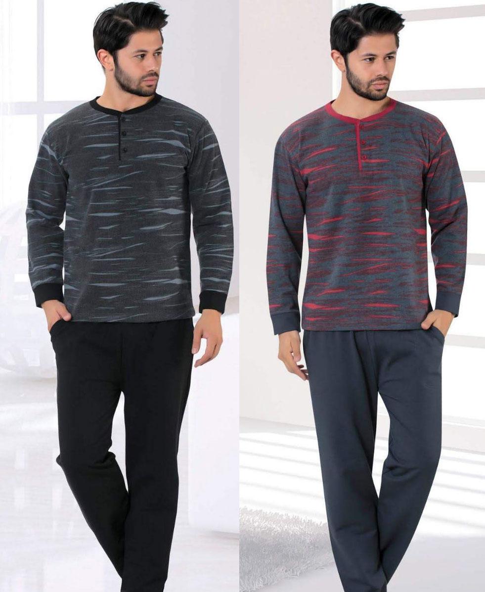 Pyjama d'hiver Bien-être en coton pour homme - Devino Club