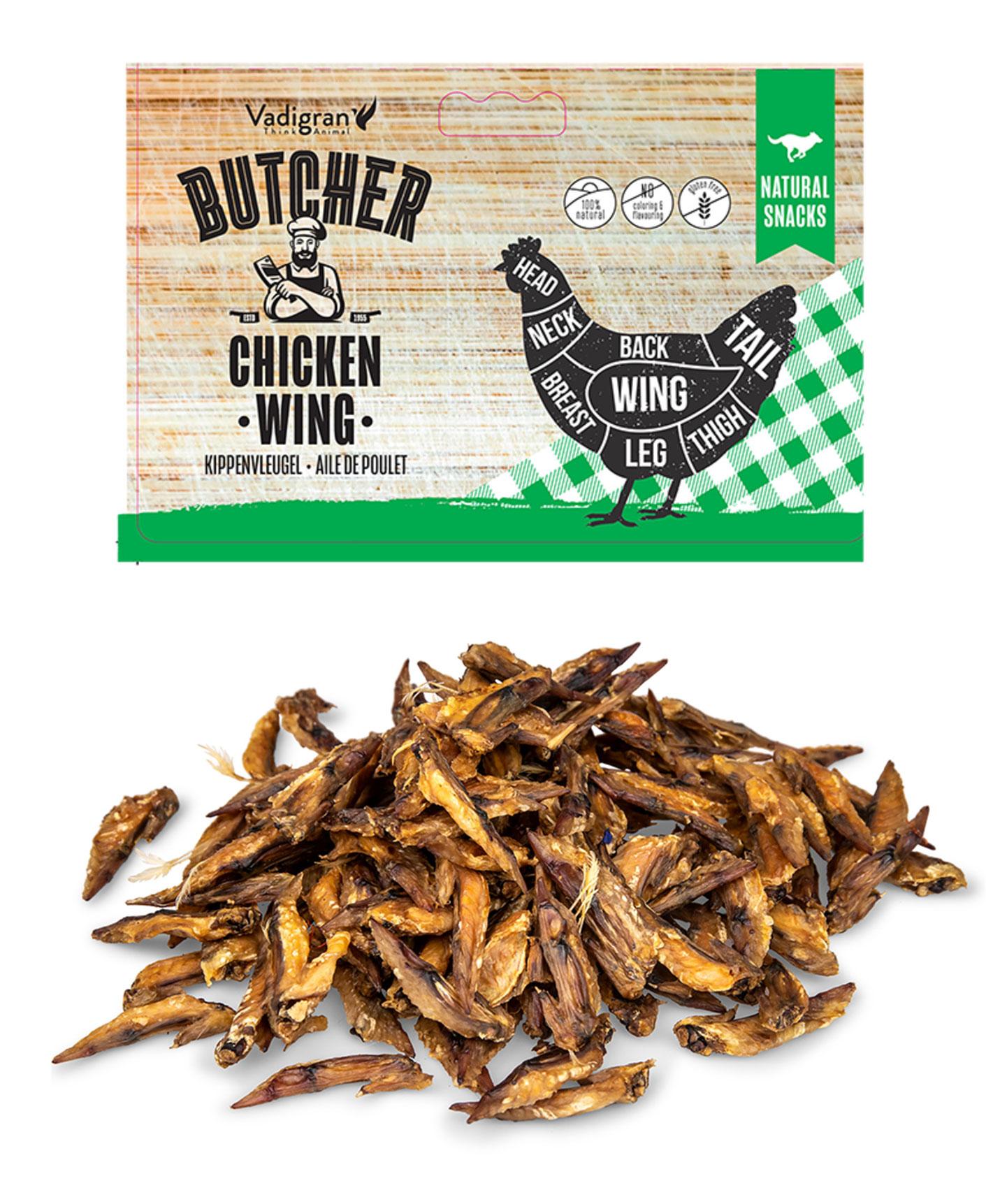 Snack Aile de poulet pour chien - Vadigran