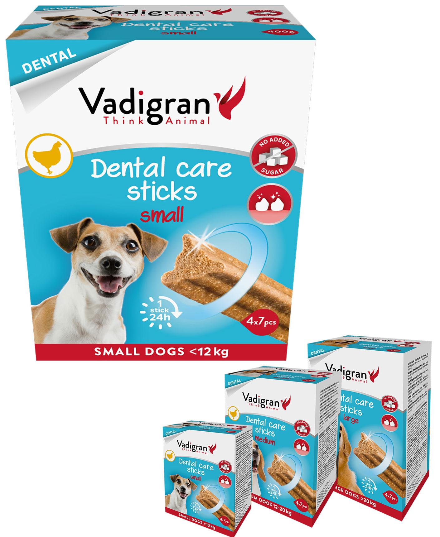 Snack Dental Care sticks fresh pour chien - Vadigran