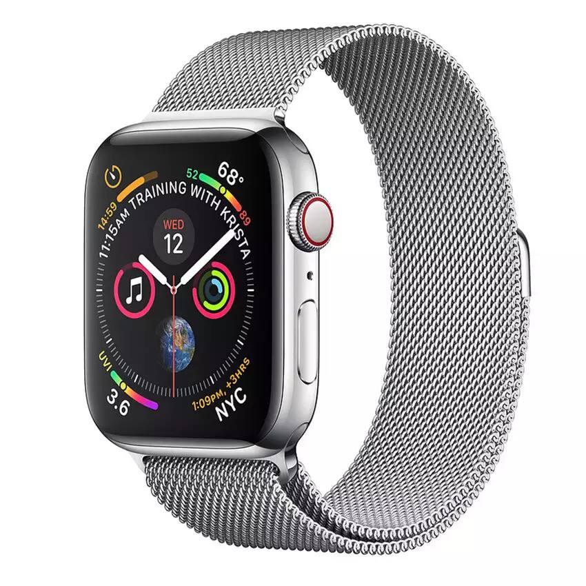 Bracelet en acier inoxydable magnétique for apple watch