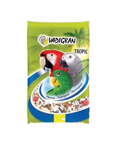 Aliment Oiseaux Perroquet Tropical Condition de Vadigran 15 Kg