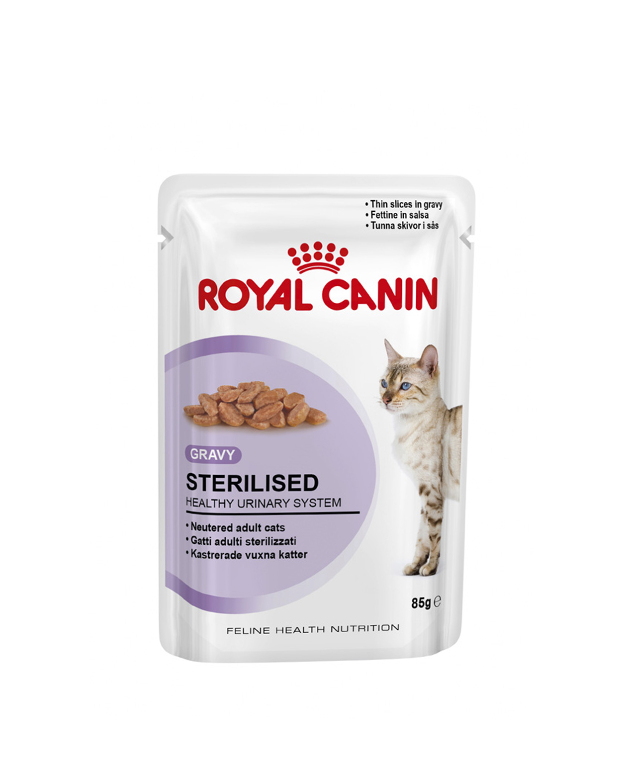 Bouchées en Sauce Royal Canin Sterilised 12x85g pour chats