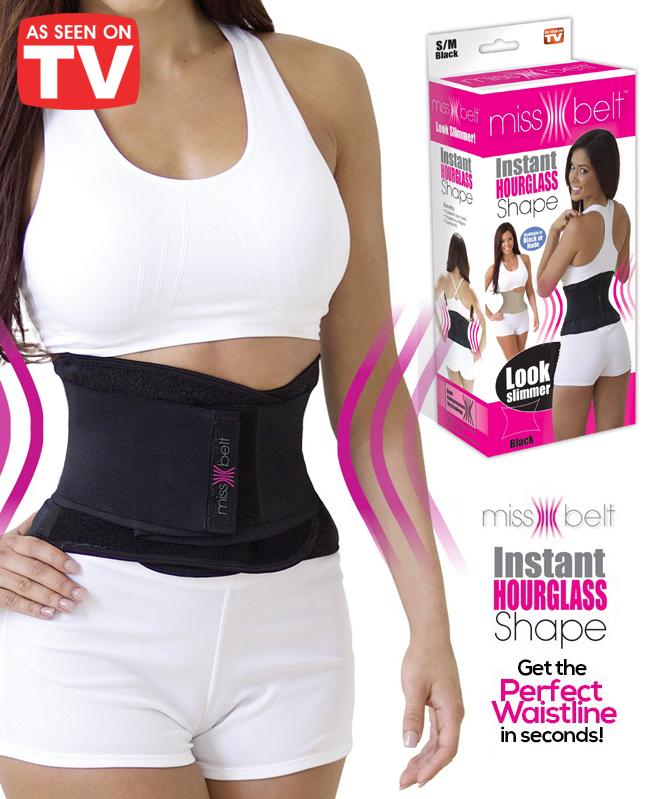 Ceinture amincissante ajustable - Miss Belt - Vu à la Télé