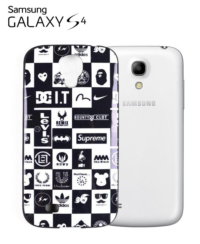 Coque Brand Black & White Samsung Galaxy S4