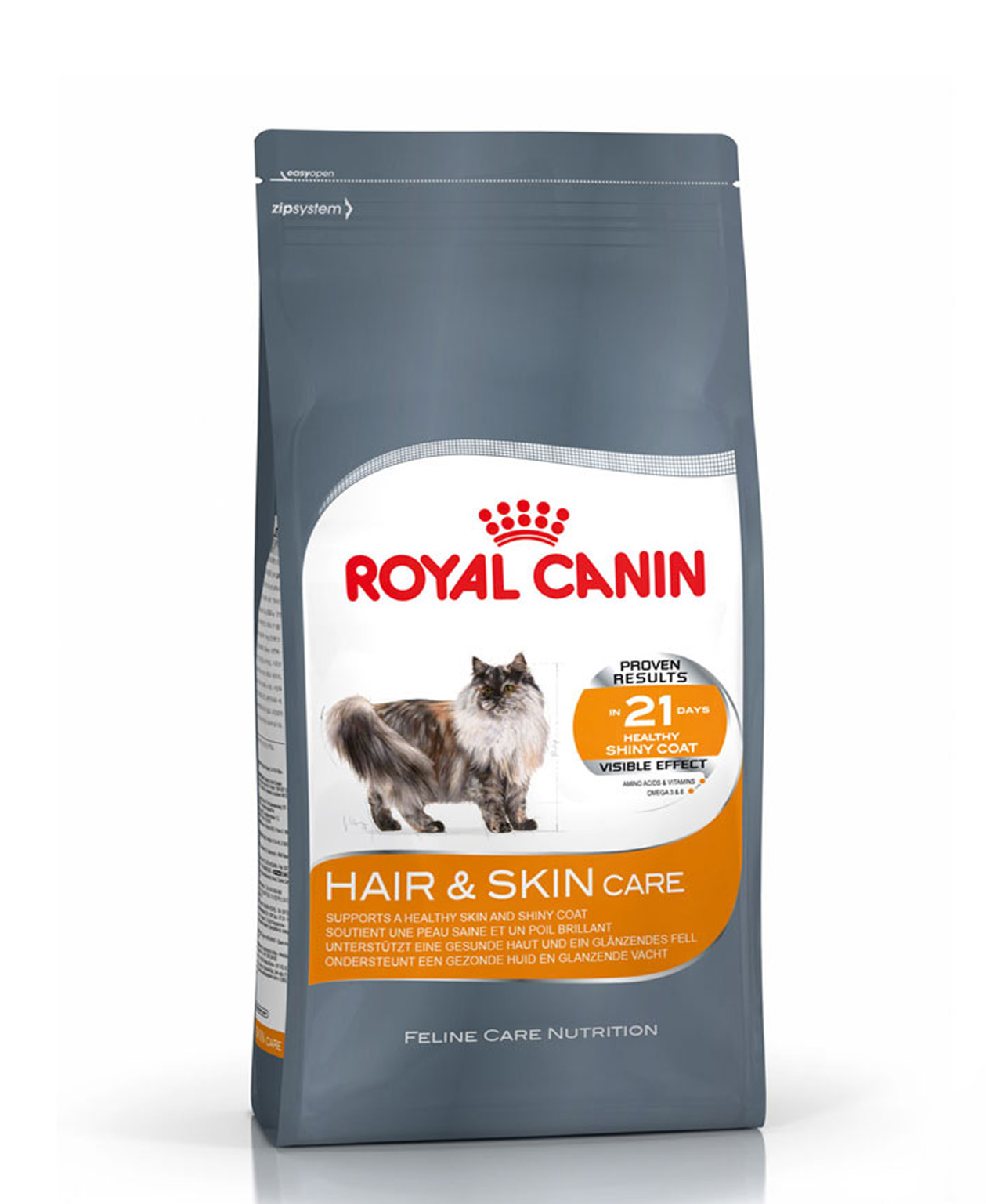 Croquettes Royal Canin Hair & Skin Care 2kg pour Chat