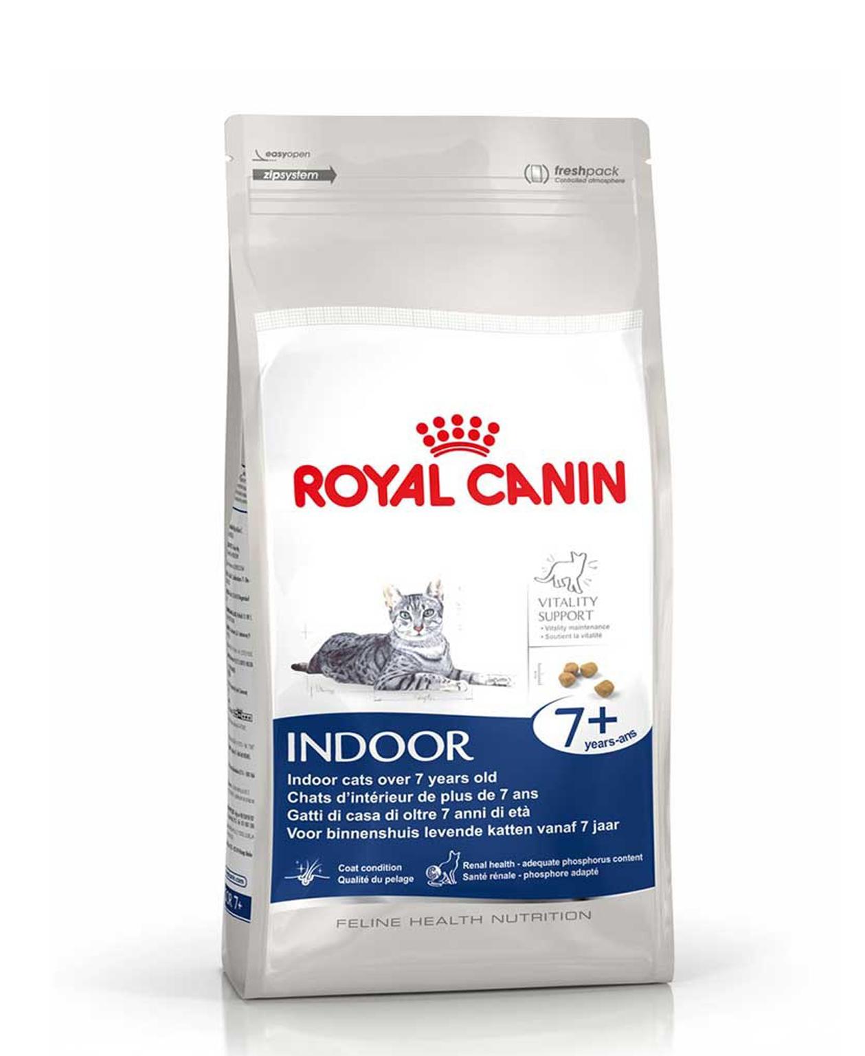 Croquettes Royal Canin Indoor 7ans et plus - 3,5kg pour Chat