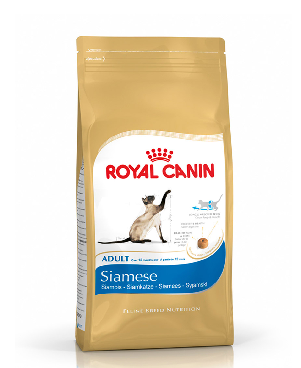 Croquettes Royal Canin Siamois - 2kg pour Chat