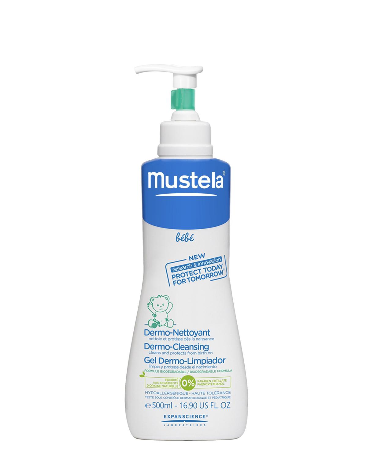 Mustela bébé Dermo-Nettoyant liquide 500 ml