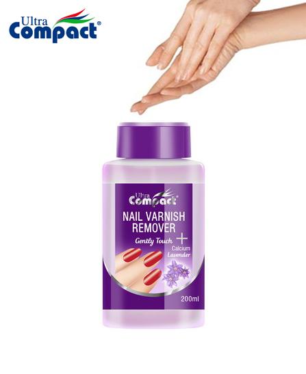 Dissolvant pour ongles après vernis - Ultra Compact Lavande 200 ml