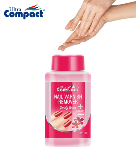 Dissolvant pour ongles après vernis - Ultra compact Sakura 200 ml