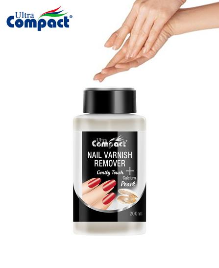 Dissolvant pour ongles après vernis - Ultra Compact Perles 200 ml