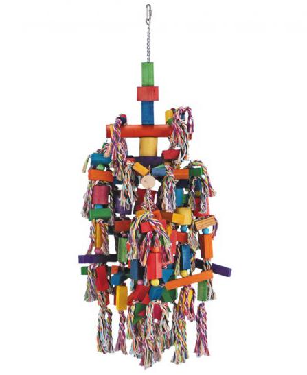 Jouet Multicolore matériaux divers pour Perroquet 95 cm de Vadigran