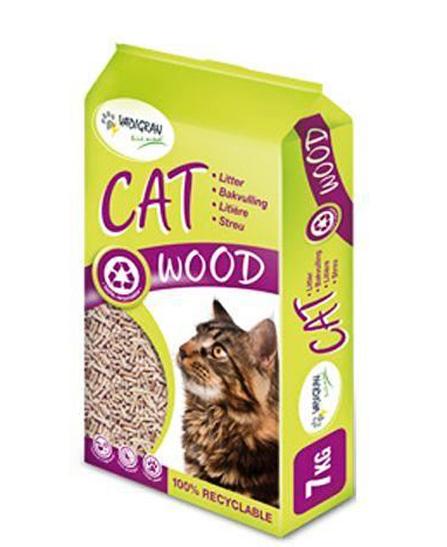 Litière Cat Wood pour Chat de VADIGRAN