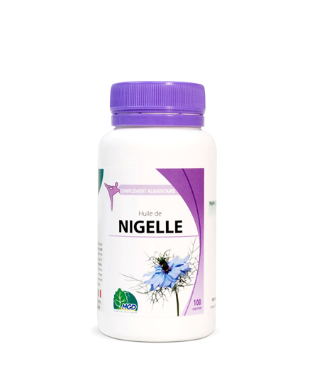Mgd nature Huile de Nigelle - 100 Capsules
