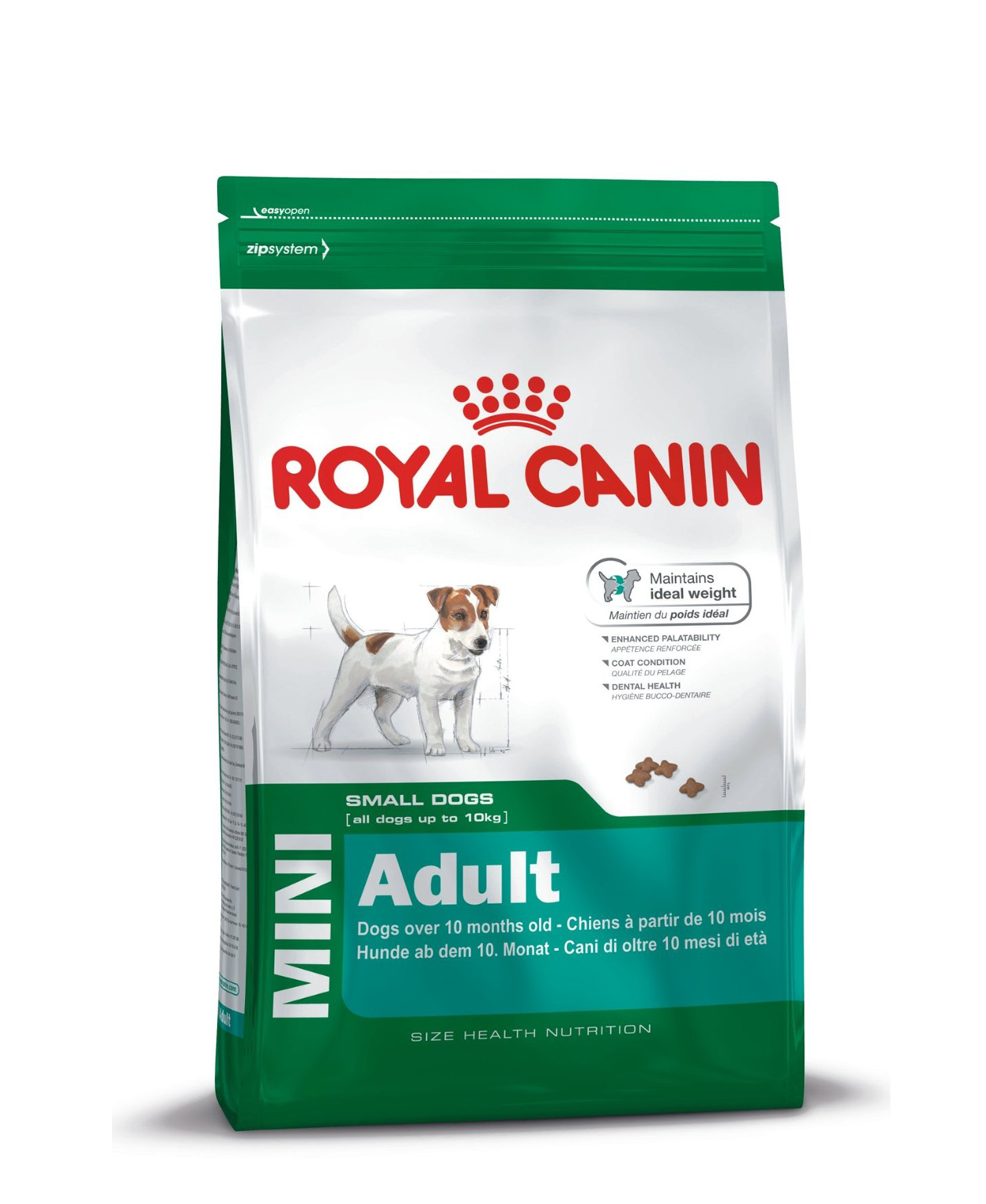 Croquettes Royal Canin Mini Adulte pour chien 2kg