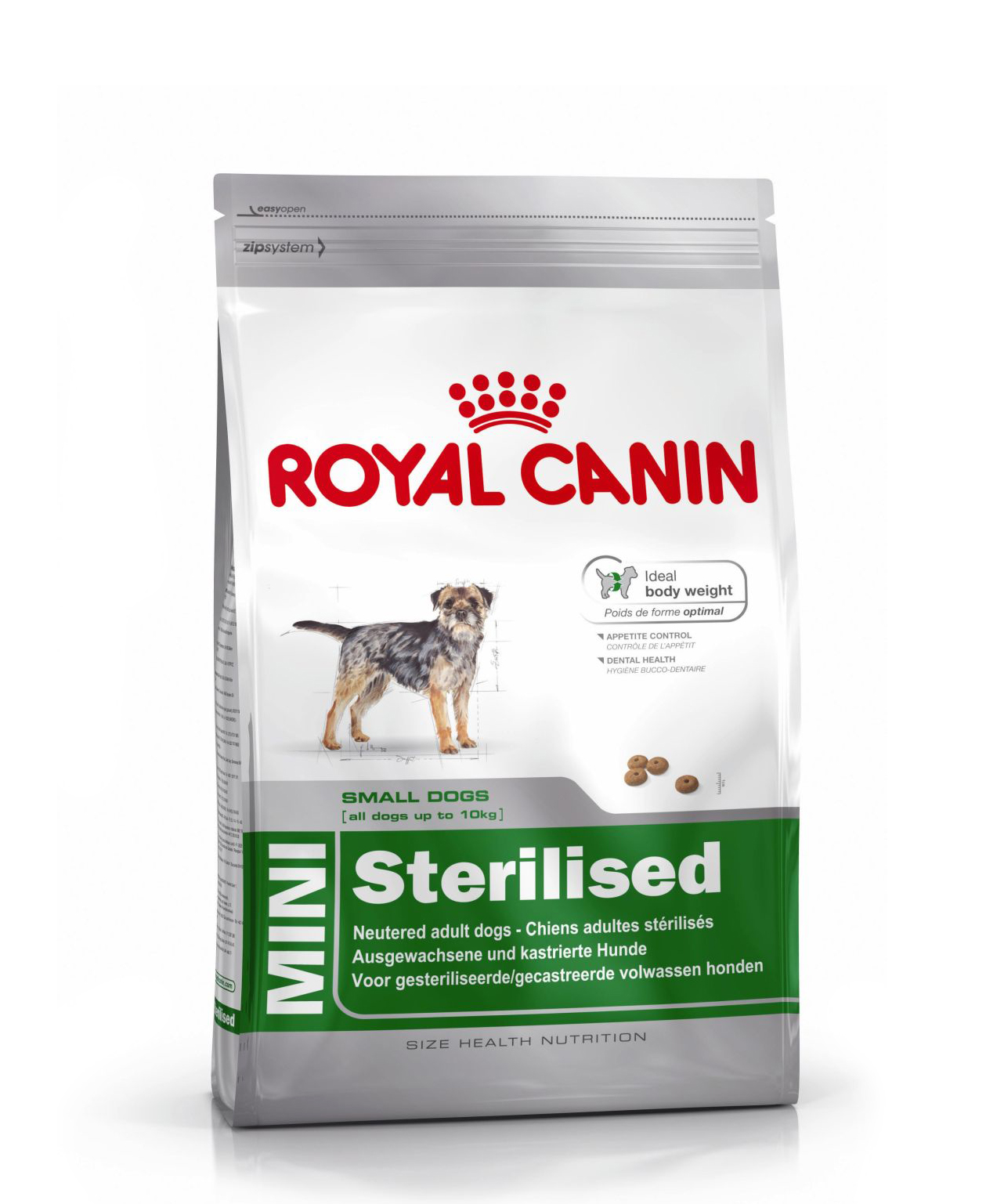 Croquettes Royal Canin Mini Sterilised Adulte 2kg