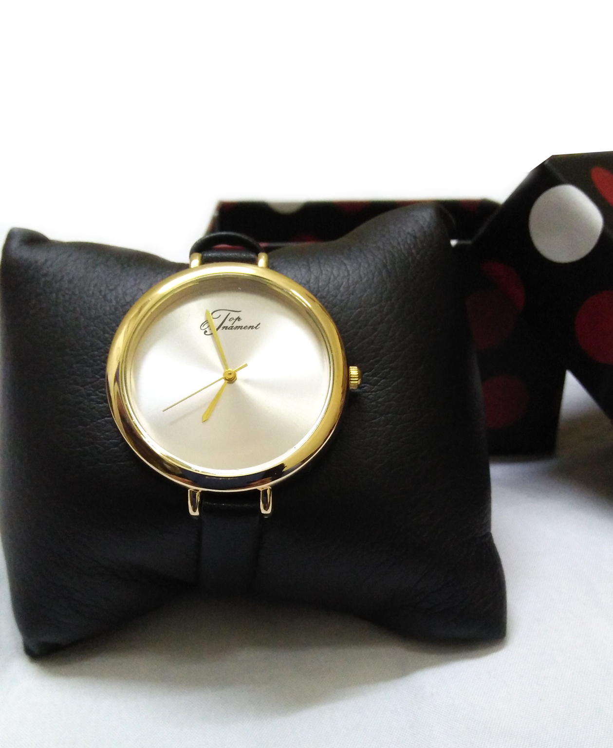 Montre Top Ornament Black Mood pour femme
