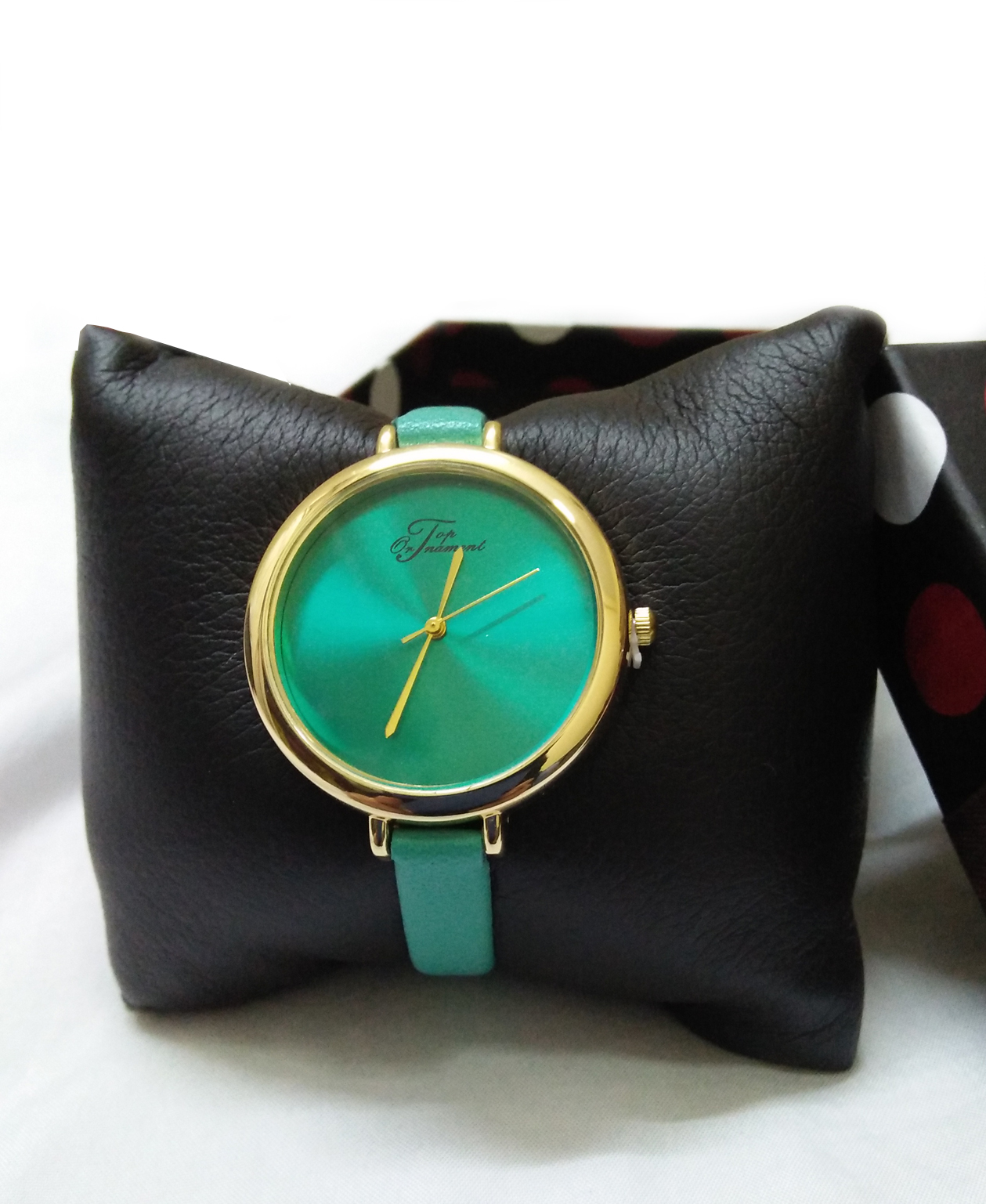 Montre Top Ornament Green Mood pour femme