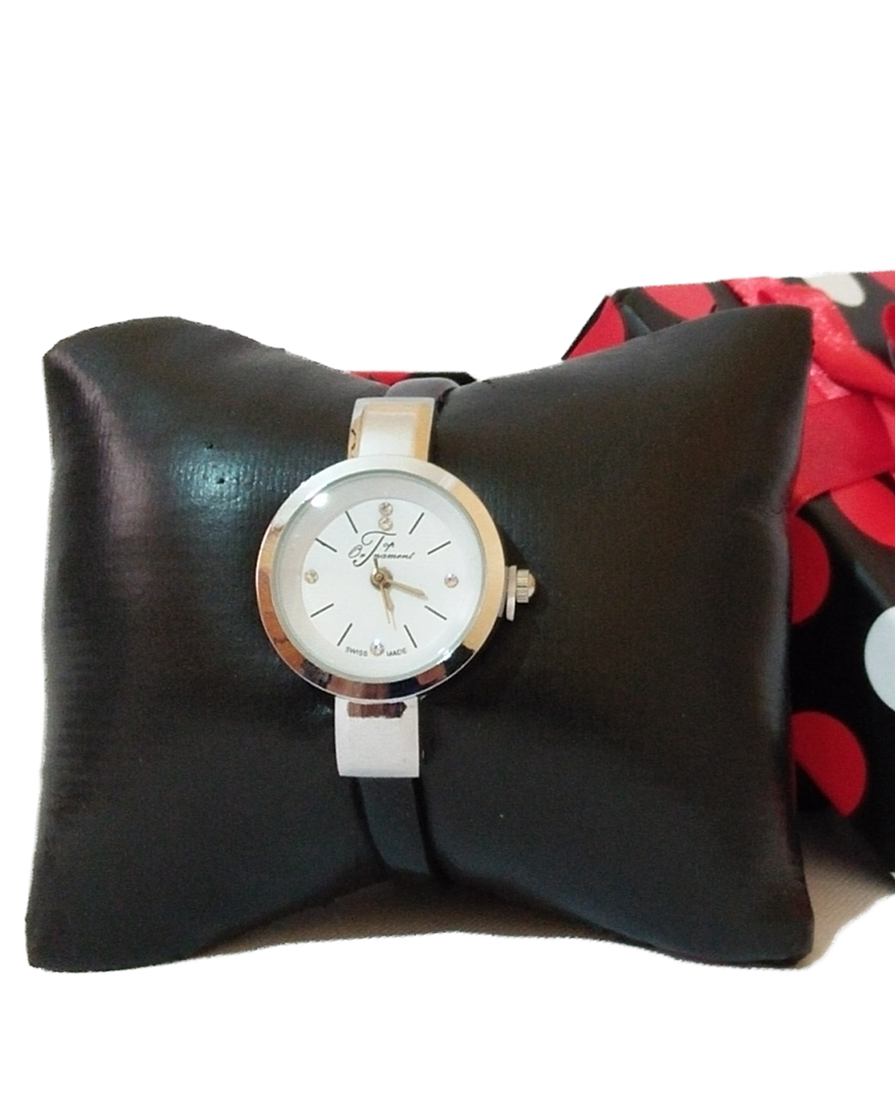 Montre Top Ornament Black Swiss pour femme
