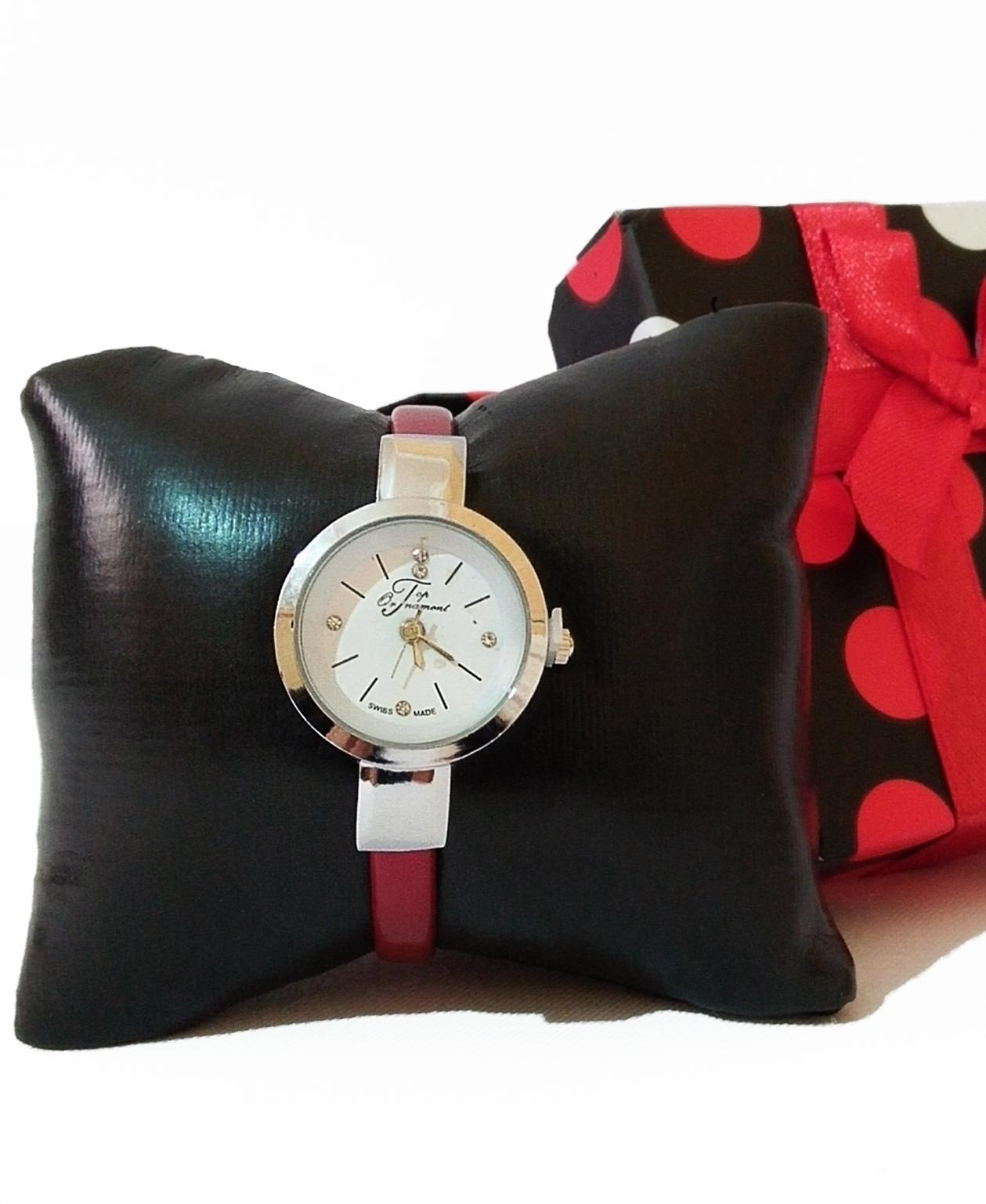 Montre Top Ornament Red Swiss pour femme