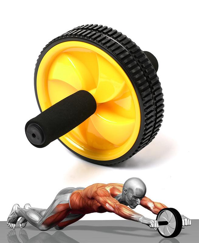 Roue d'exercice abdominale et thoracique