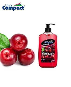 Savon liquide pour les mains Ultra Compact parfum de Canneberge - 500 ml