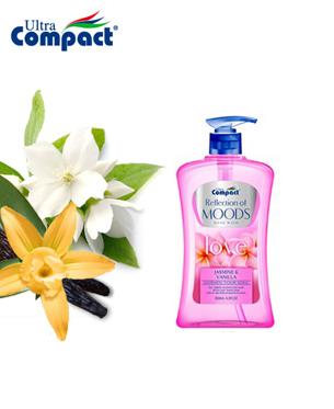 Savon liquide pour les mains Reflets d'humeur parfum de Jasmine et Vanille - 400 ml