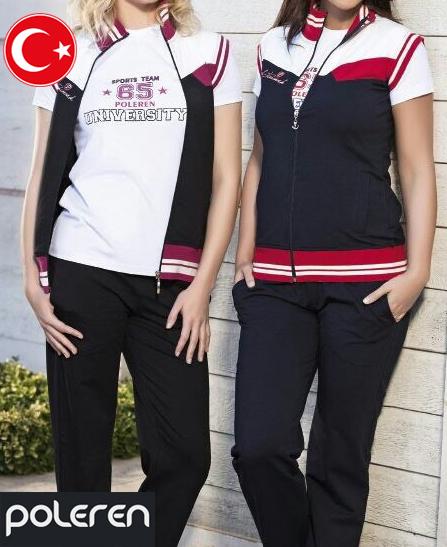 Survête Turque Sport Team 65 Poleren 3 pièces femme