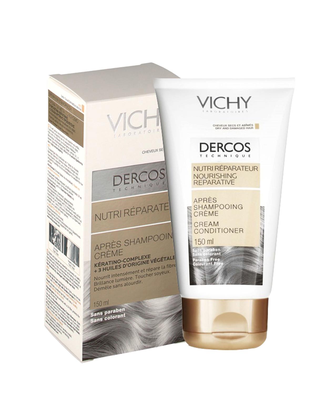 Dercos Nutri-réparateur Après Shampooing Crème 150 ml