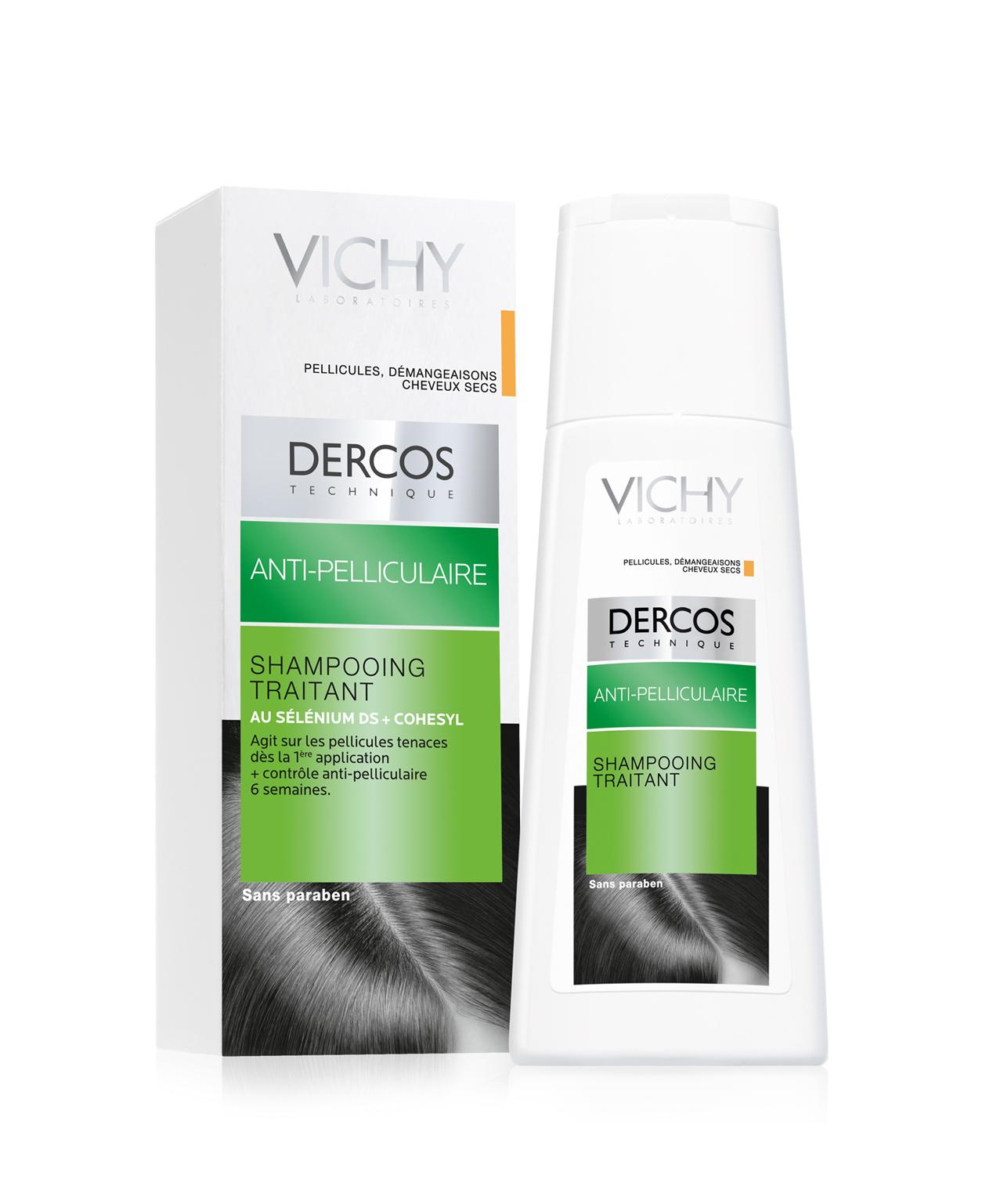 Dercos anti-pelliculaire : Cheveux secs 200 ml