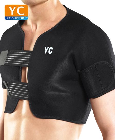 YC Support Bilatérale Maintien d'épaule intégral en néoprène pour hommes et femmes