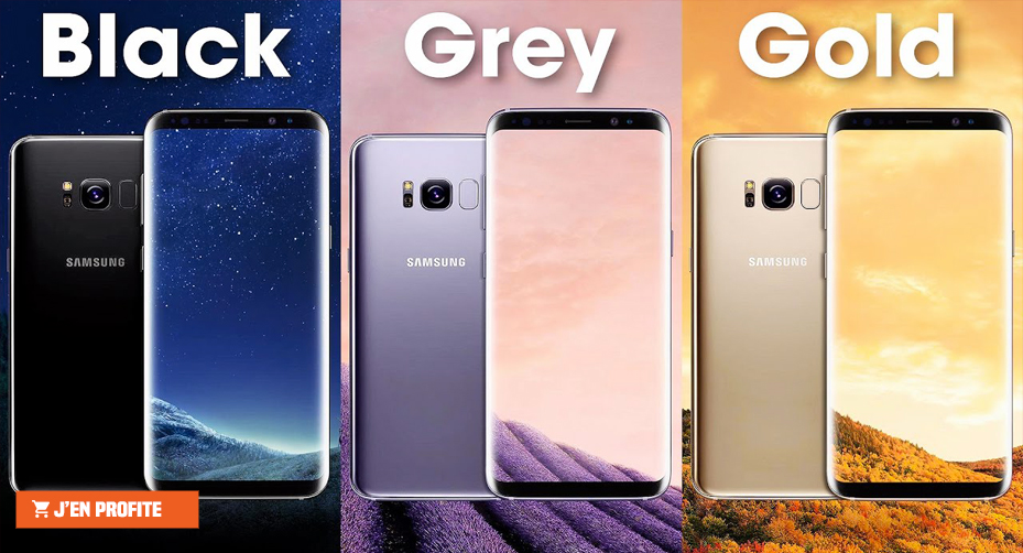 Samsung Galaxy S8 et S8 plus beloccasion.ma