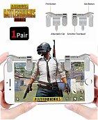 Manette Shooter PUBGMetal Plastique - Contrôleur de tir L1R1 - Free Fire - jeu mobile