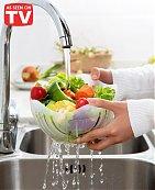 Bol à salade avec coupeur - 60 Seconds - Blanc