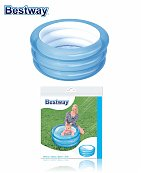 Piscine gonflable 3 boudins Kiddie Pool 70cm x H30cm - Bestway