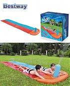 Tapis de glisse gonflable piste de dragster pour les enfants - Bestway