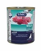 Selected Meat Gibier 800g Viande pure pour Chien - Dr Clauder's