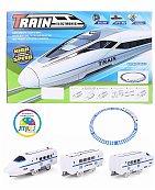 Jouet Train de grande vitesse avec effets sonores et lumineux pour enfants