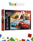 Puzzle 30 Pièces pour enfants +3 ans - Disney Cars 3