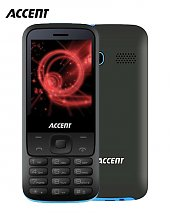 Portable Accent Star F7 - Dual SIM - 32MB - Turquoise
