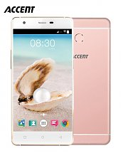 Portable Accent Pearl A2 - 5 - 5MP/8MP - 2 Gb /16 Gb - Quad Core - Rose