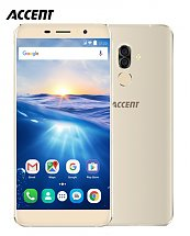 Portable Accent Speed S8 - 16 Go - Ram 1 Go - Dual Sim - Gold & Black