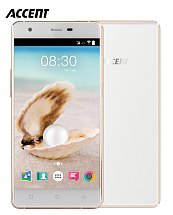 Portable Accent Pearl White & Gold + Cover - Ram 2G - 16GB - 16MP