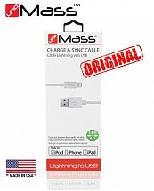 Cable Lightning vers USB iPad / iPod / iPhone - Accessoires UNO MASS