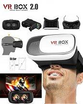 Lunettes 2.0 virtual reality 3D bonne qualité - VR BOX 2