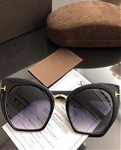 Lunette  de soleil T. F  avec boite - Noir