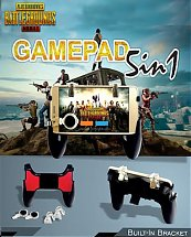 Manette 5 in 1 Gamepad Joystick Contrôleur de jeux mobiles L1 R1 - Pupg et Free Fire