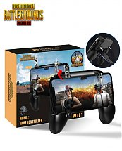Manette jeu PUBG Free Fire W11 Plus - Tire L1 R1 + Manipulation analogue