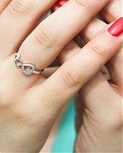 Parures Heart en Argent Certifié 925 Collier Bague Bracelet et Boucles d'Oreilles